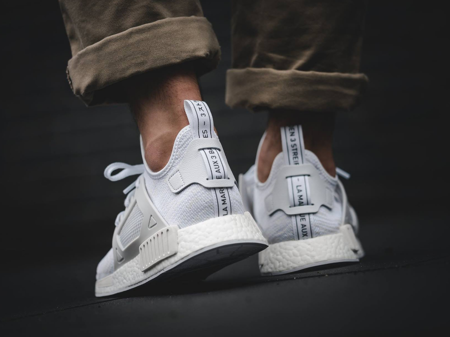 adidas nmd original blanche