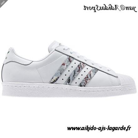 promo code 516ca 3b774 Découvrez Original Réduction Adidas Superstar Femme Blanche Chaussures Pas  Cher  Royer2l3O61175