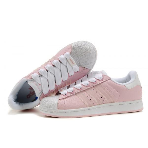 superstar femme adidas rose