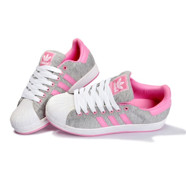 Original Découvrez Chaussures Femme Adidas Superstar Réduction Rose 0awqd6