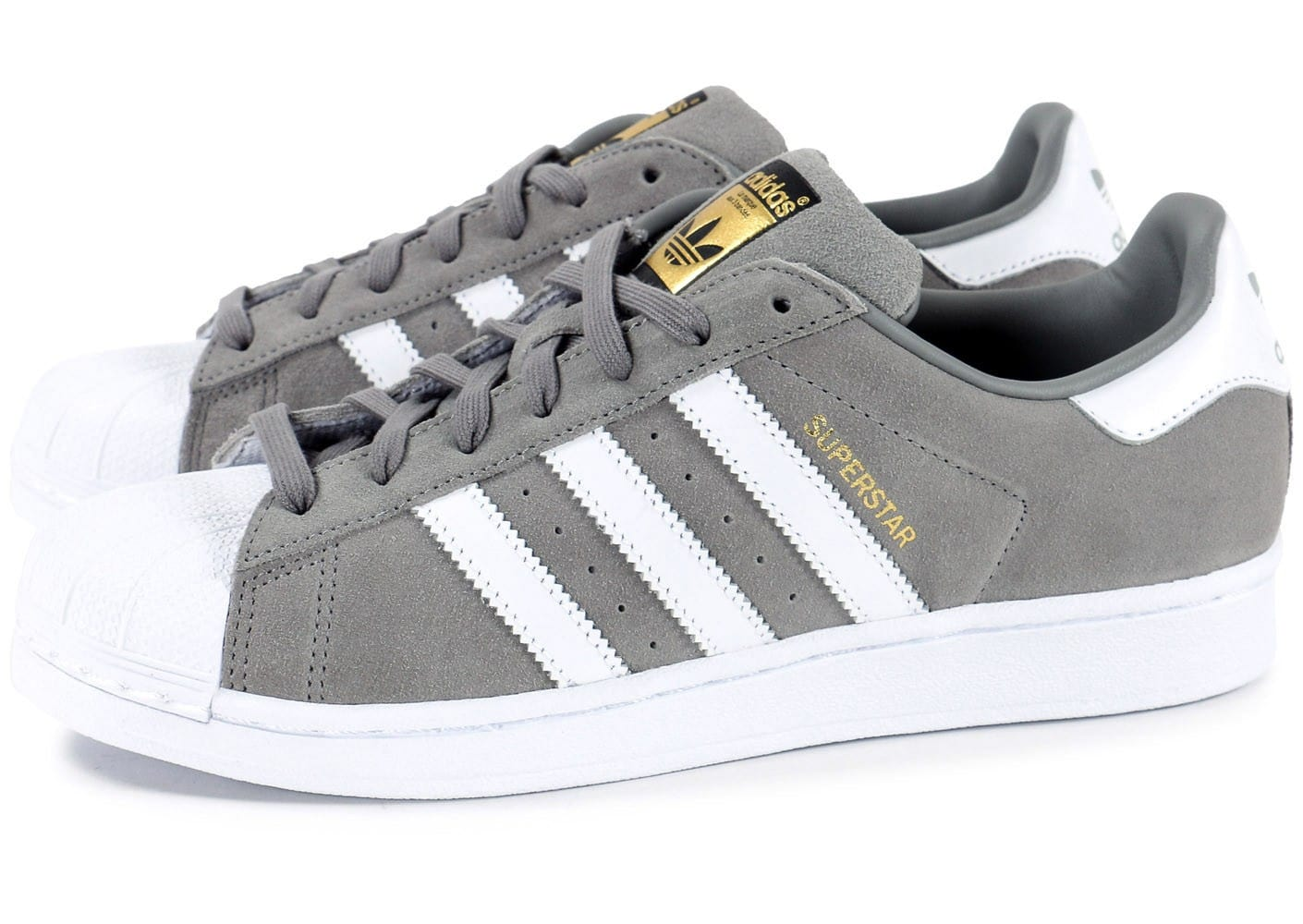 chaussure adidas grise