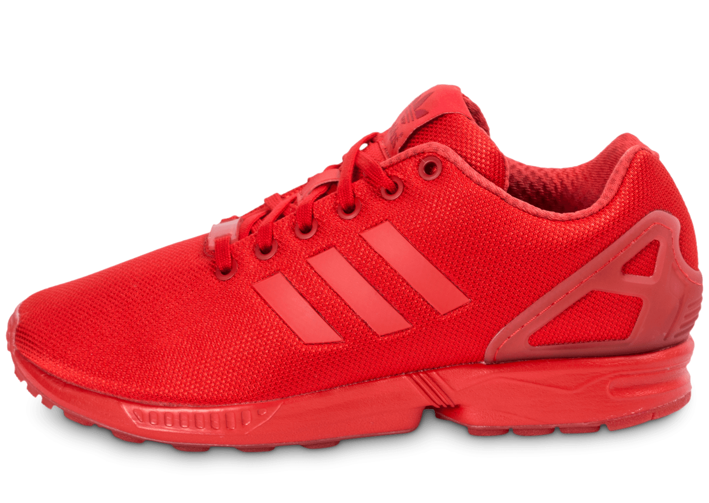 basket adidas zx flux homme rouge
