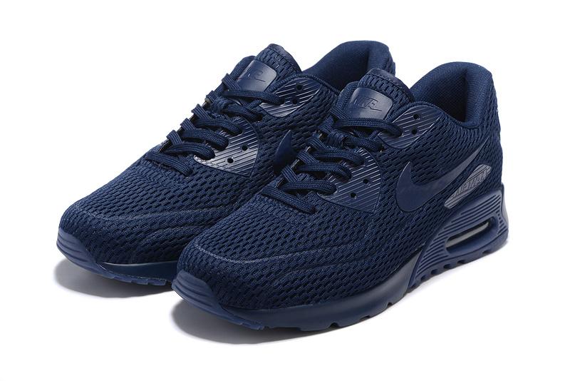 723cfe3a9debc2 Découvrez Populaire Nike Air Max 90 Femme Bleu Chaussures Pas Cher  S0Ol101844