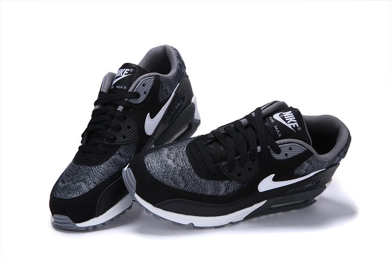 Découvrez Populaire Nike Air Max 90 Femme Noir Chaussures Pas Cher  S0Ol101900 f23f435d0dc0