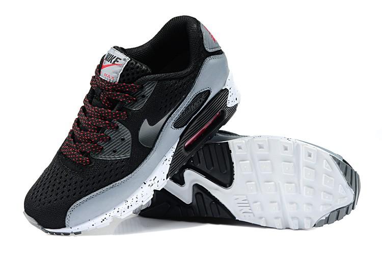 the latest 25d04 c3e2f Découvrez Populaire Nike Air Max 90 Femme Noir Chaussures Pas Cher  S0Ol101919