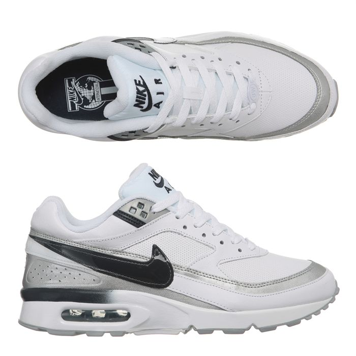 Acheter Femme Nike Air Max Classic BW Blanche Rose Chaussures France Pas Cher