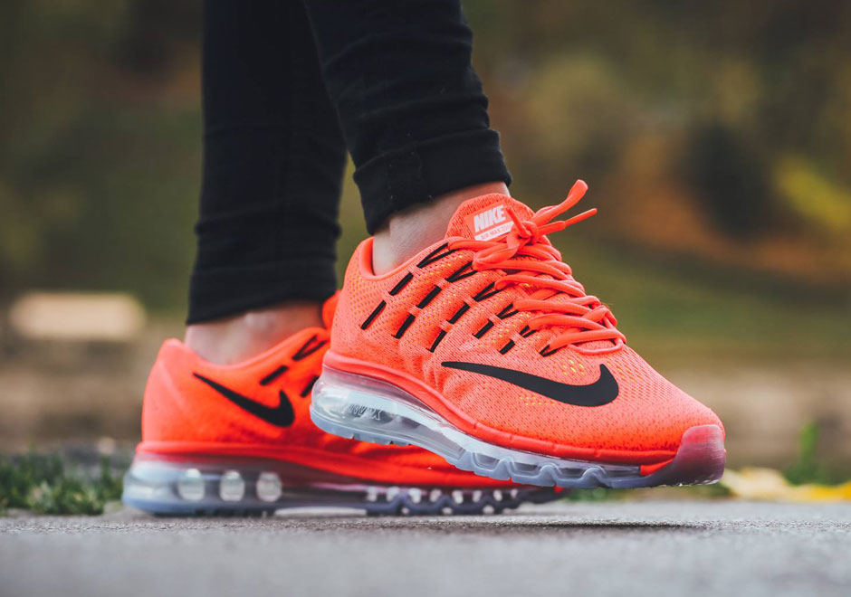 air max 2016 orange femme